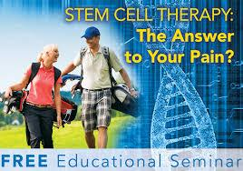 Reg.for Comp. Dinner & Stem Cell Seminar w/ Falk Total Health at Sam Sneads 9/28