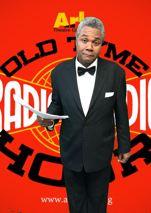 Darryl Maximilian Robinson Returns Onstage As The Announcer In Dick Tracy!