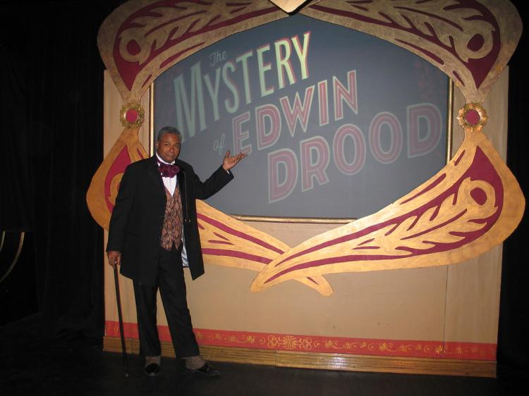 Darryl Maximilian Robinson Shares His 'Mystery of Edwin Drood' Stage Notes!