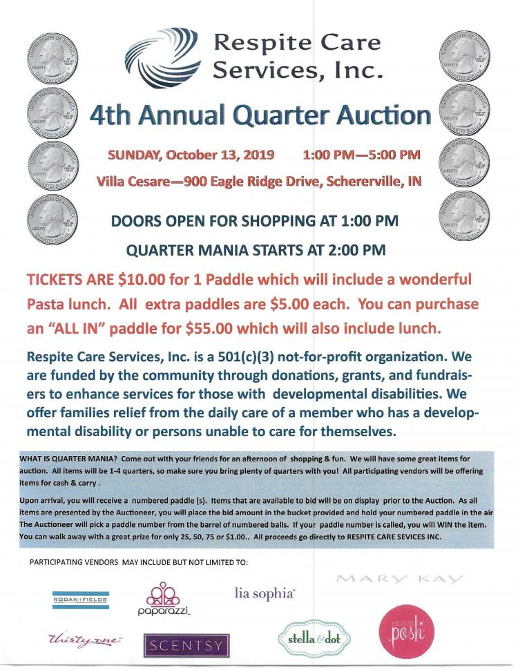 4th Annual Quarter Auction