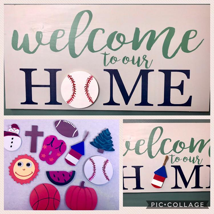 Welcome to our Home with Accents Sign Workshop