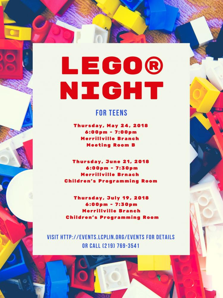 LEGO® Night for Teens