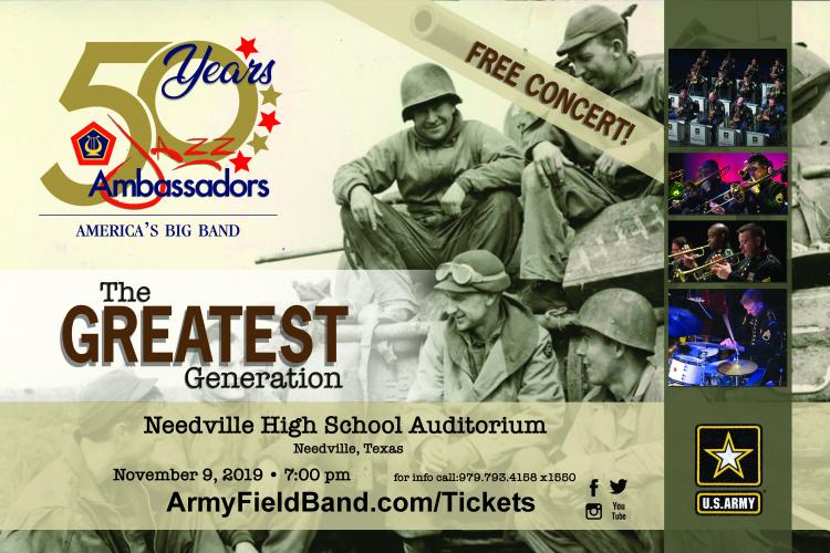 Free Concert! Jazz Ambassadors of The U.S. Army Field Band
