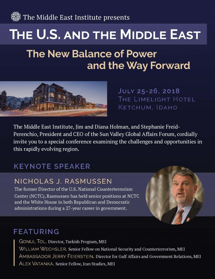 The U.S and the Middle East – the New Balance of Power and the Way Forward