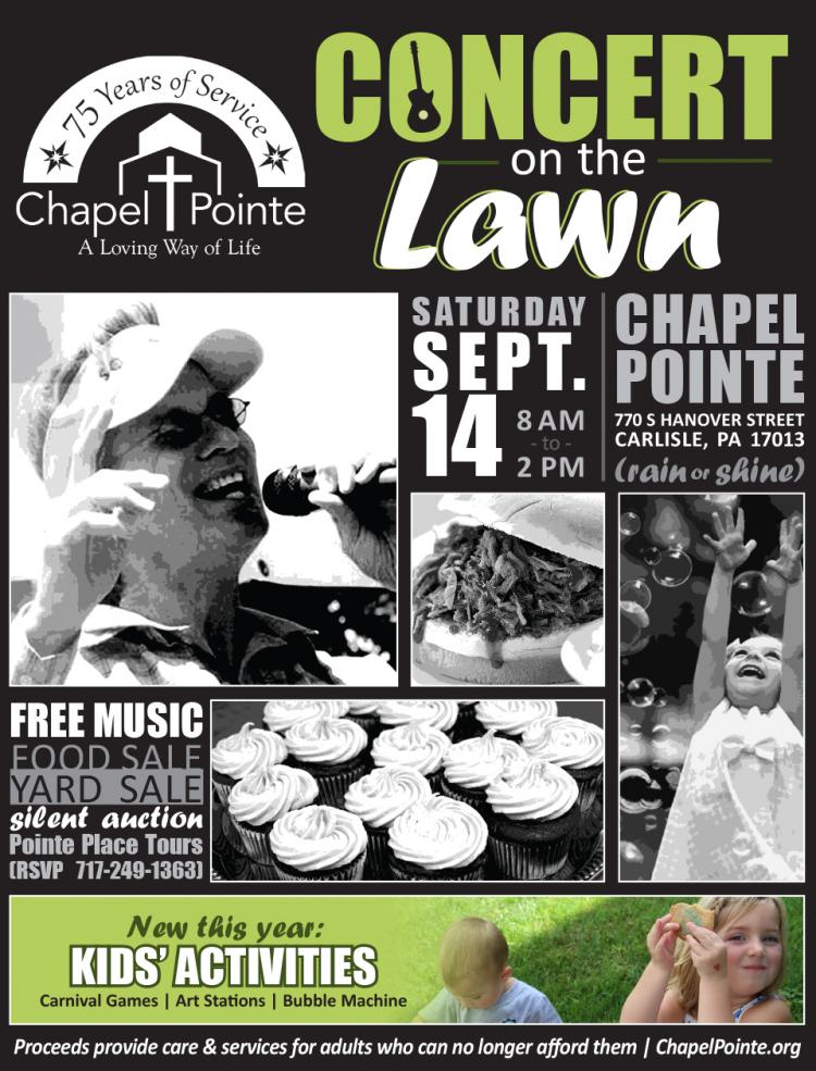 Concert on the Lawn at Chapel Pointe