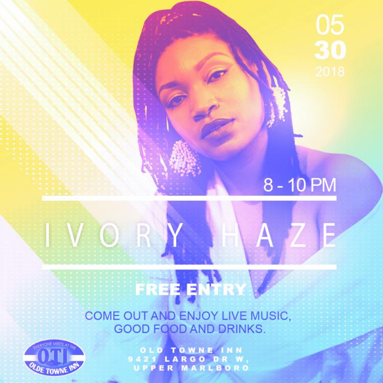 Ivory Haze Live at Old Towne Inn Largo