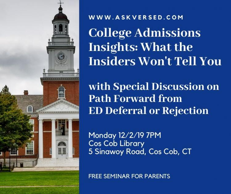 College Admissions Insights: What the Insiders Won't Tell You