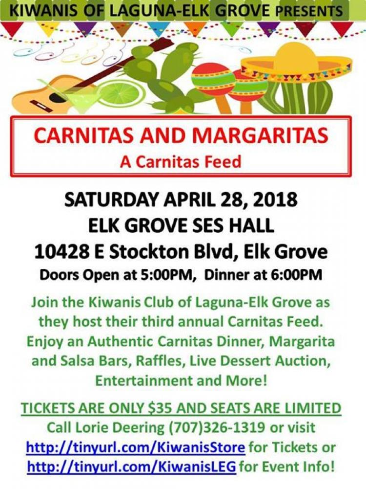 3rd Annual Carnitas and Margaritas Feed