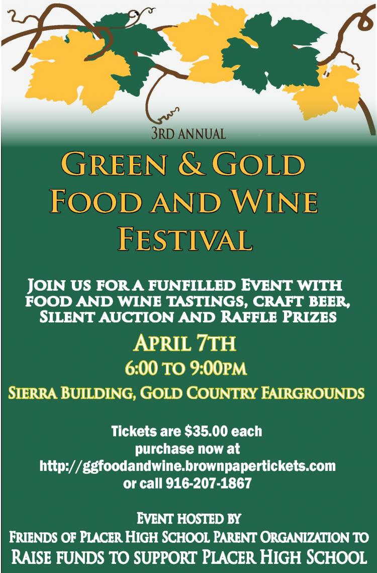 Green & Gold Food and Wine Festival
