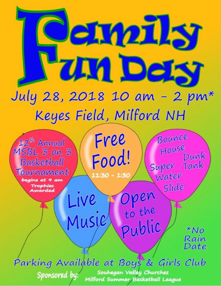 Milford's Annual Family Fun Day