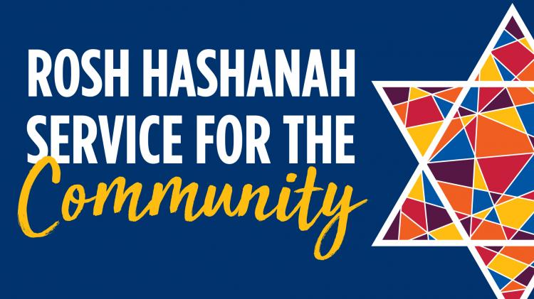 Rosh Hashanah Service for the Community