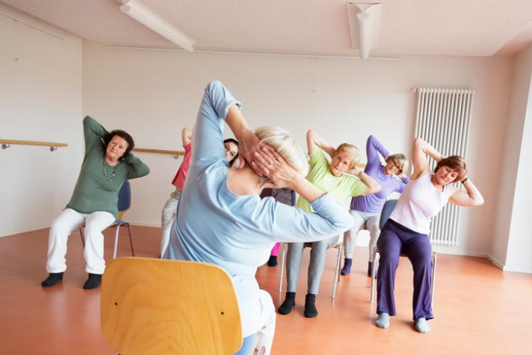 The Social of Greenwood - Gentle Yoga Class