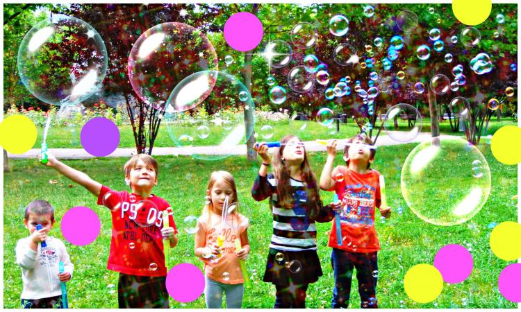 Bubble Party at Independence Park