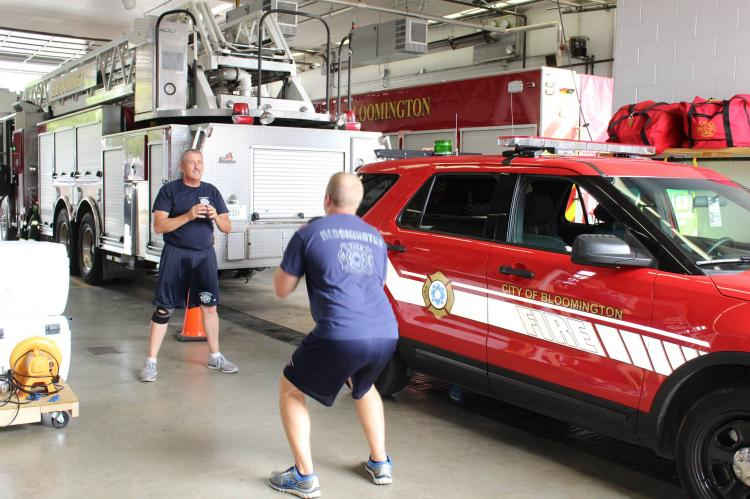 Fitness with a Firefighter