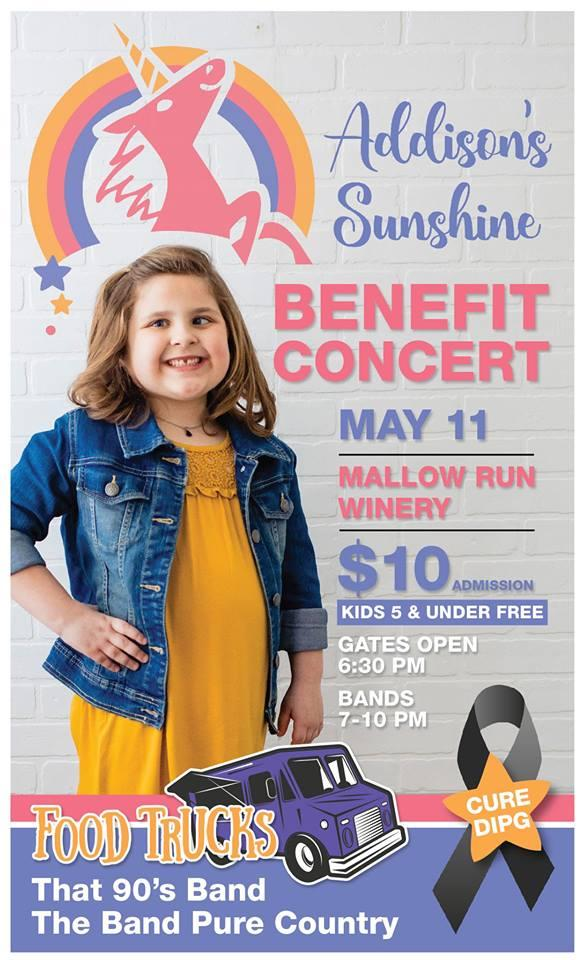 BENEFIT CONCERT for ADDISON