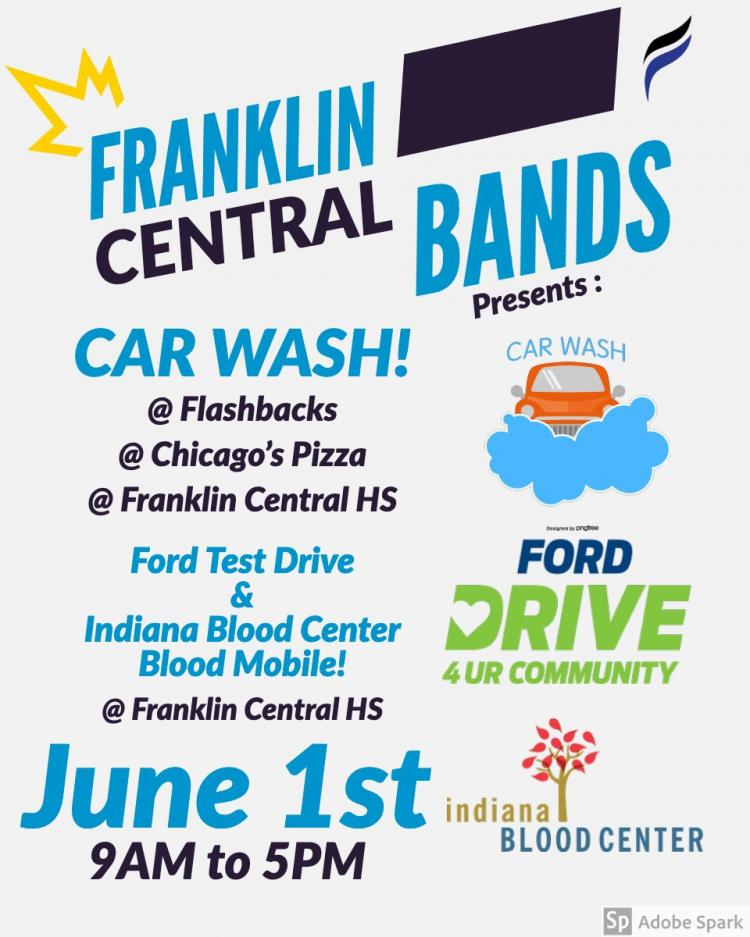 FC Bands Fundraiser - Test Drive, Car Wash, Blood Drive