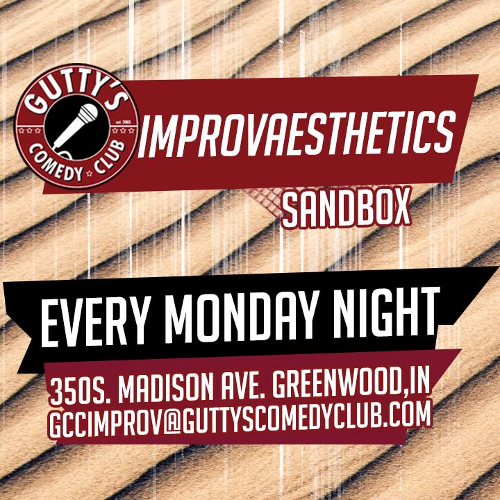 ImprovAesthetics Sandbox at Gutty's
