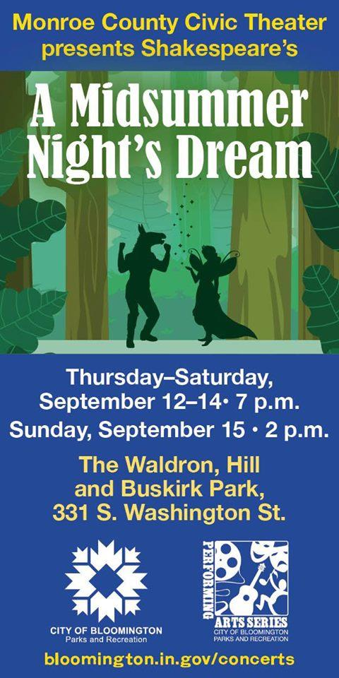 30th Annv. of Shakespeare in the Park: A Midsummer Night's Dream