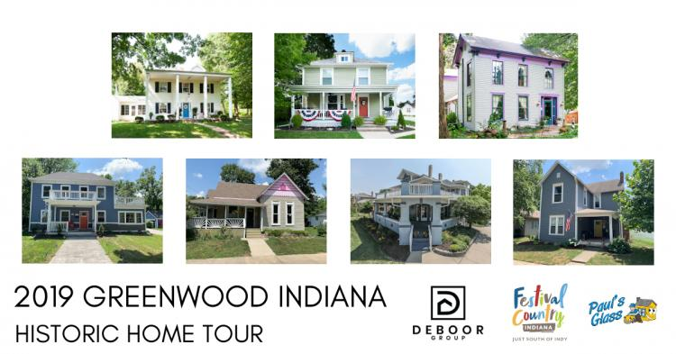Greenwood Indiana Historic Home Tour