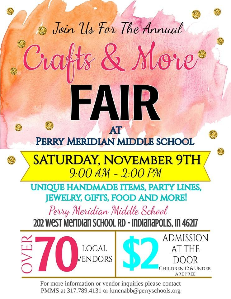 Perry Meridian Crafts & More Show