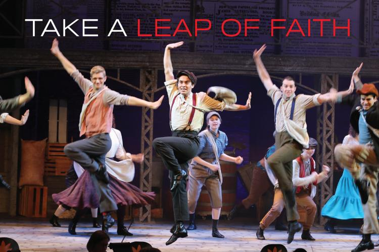 Purchase a Cardinal Stage Leap of Faith Membership!