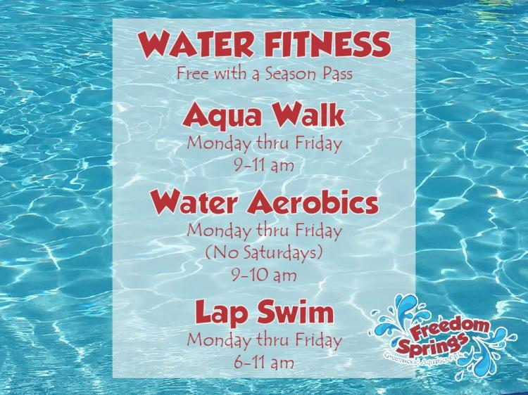 Water Fitness Classes at Freedom Springs