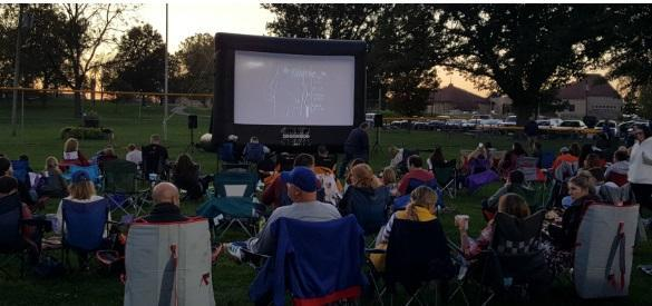 Greenwood Family Movies in the Park