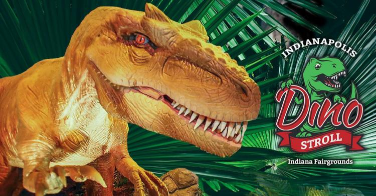 Dino Stroll at Indianapolis Fairgrounds
