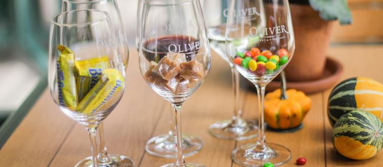 Halloween Candy Pairing Tasting at Oliver Winery