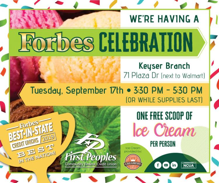 First Peoples Ice Cream Celebration!
