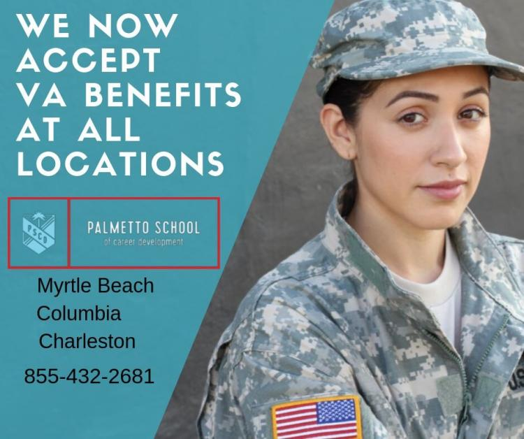 Use VA Benefits to Start Medical Career in 8 Wks at Palmetto School Career Dev