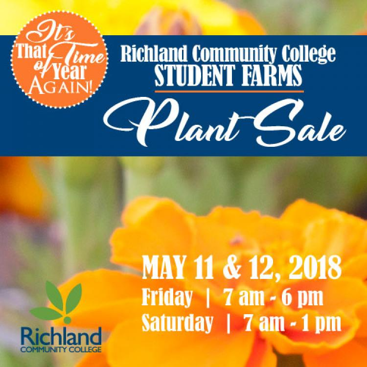 Plant Sale at Richland Community College