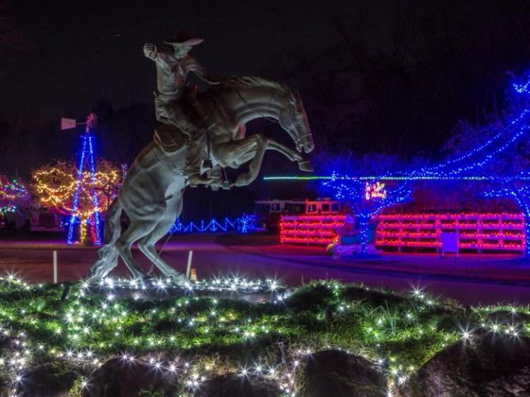 Drive Through Lights & Gift Shop at The Rock Ranch