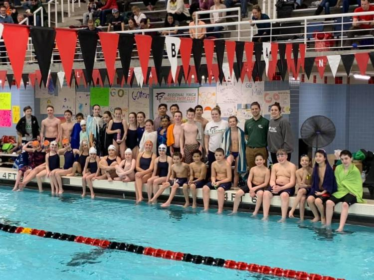 Try Outs for YMCA Mako Swim Team