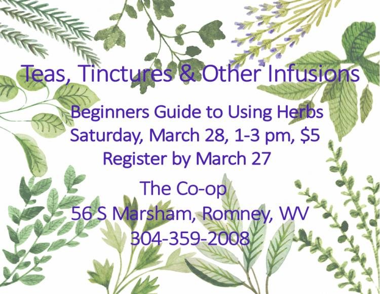 Teas, Tinctures, & Other Infusions
