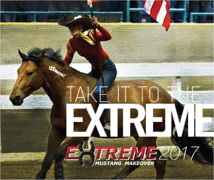 See Wild Mustangs at the Extreme Mustang Makeover in Lexington, Kentucky