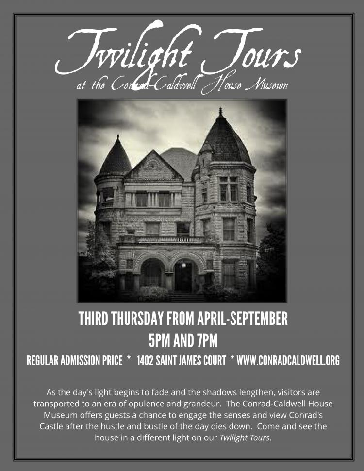 Twilight Tours at The Conrad-Caldwell House