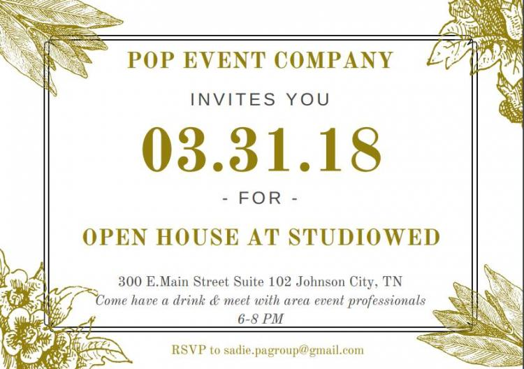 POP Event Co. Open House