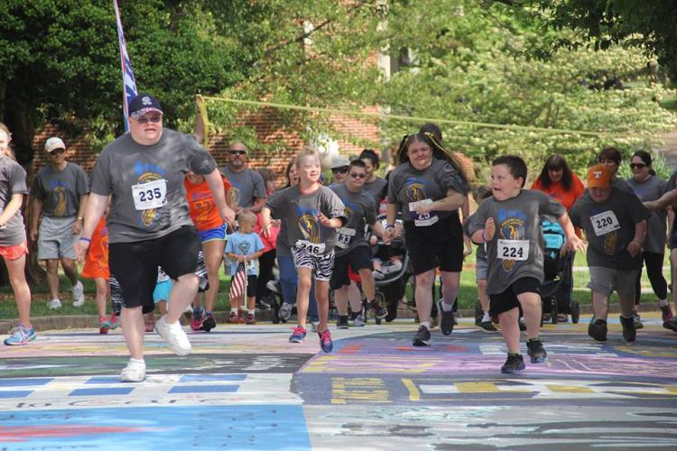 Buddy Run 5k & Family Walk with special needs dash