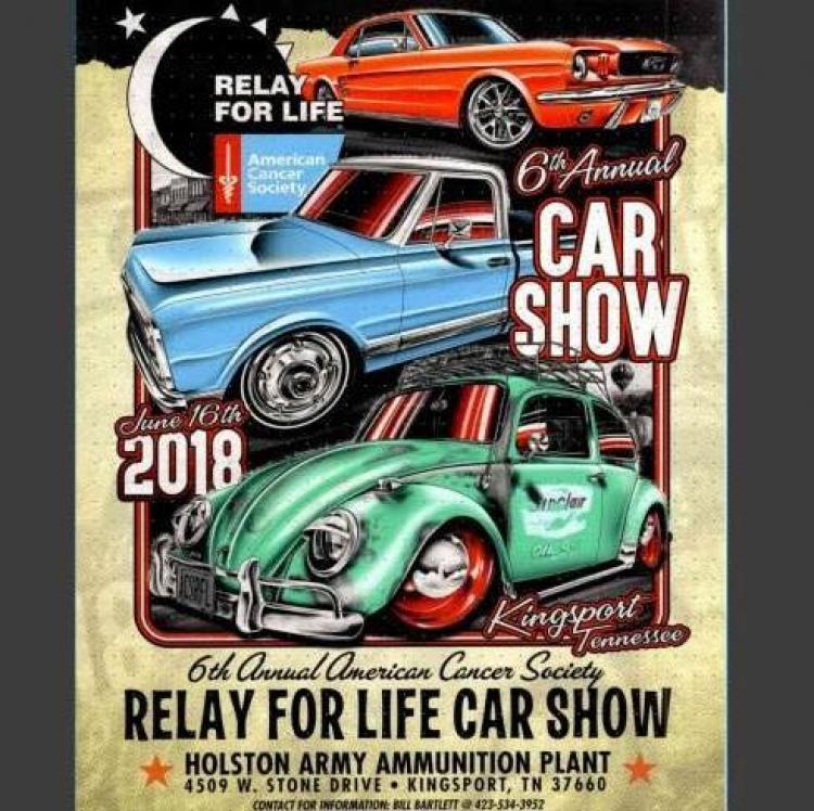 6th Annual Relay for Life Car Show