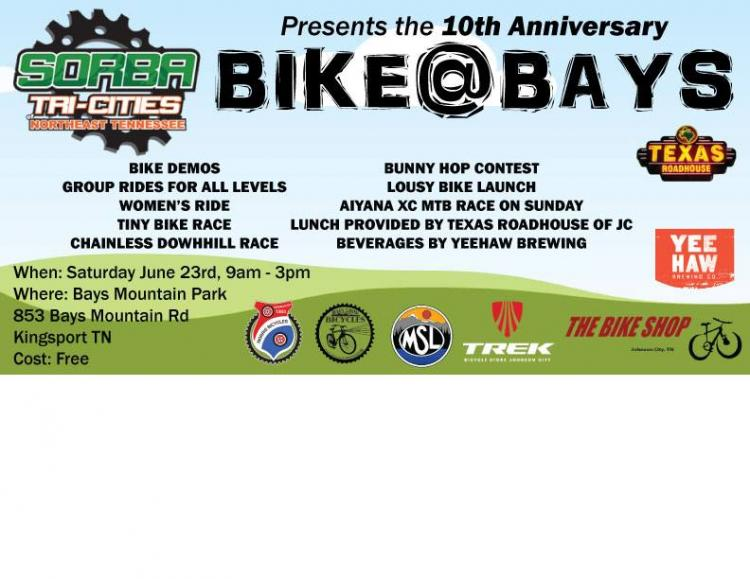 10th Anniversary of Bike@Bays