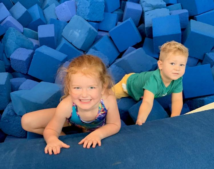 Parent & Child PLAYZONE! 9:30 - 11a BeachTeam Gymnastics