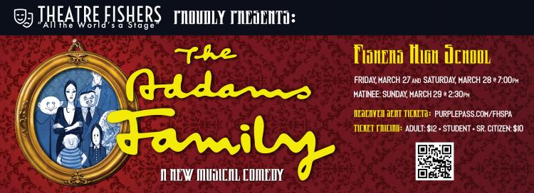 Theatre Fishers presents: The Addams Family Musical