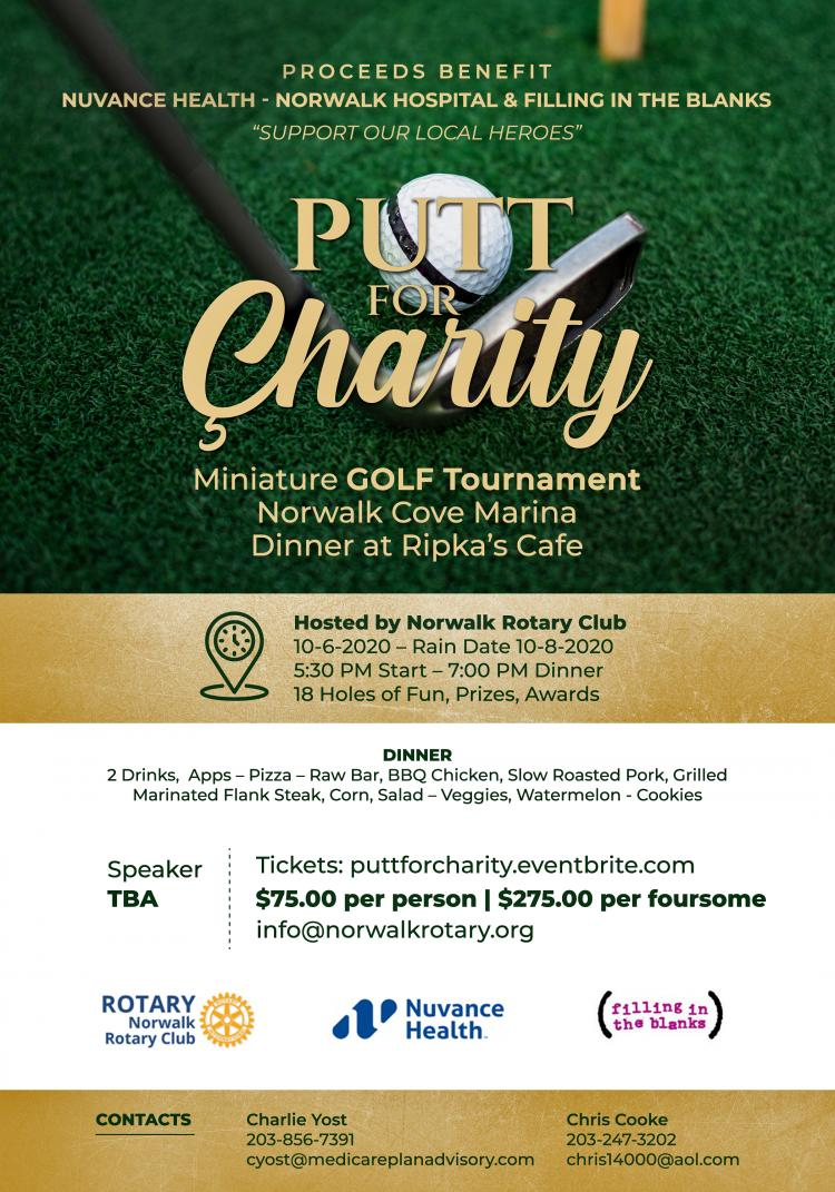 Putt for Charity- Support our Local Heroes