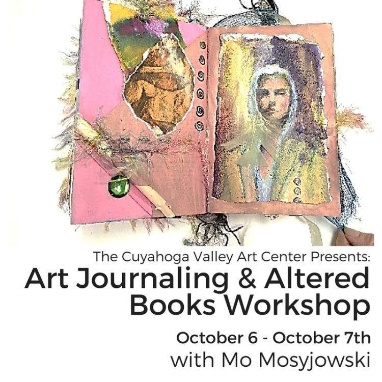 ART JOURNALING & OR ALTERED BOOKS with Mo Mosyjowski