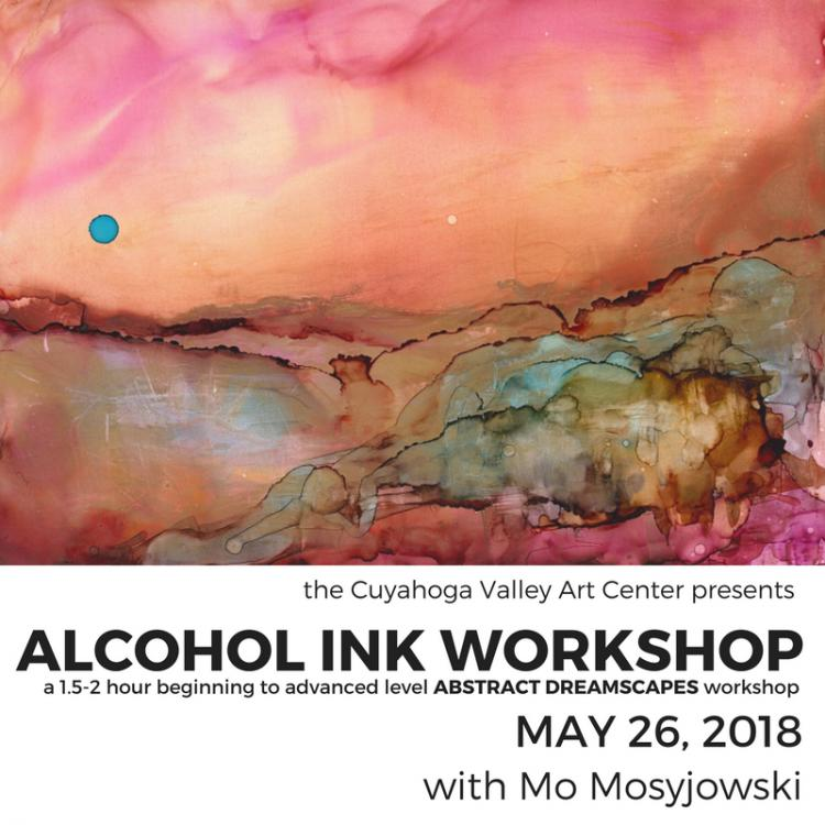 CVAC Alcohol Ink Workshop: Abstract Dreamscape