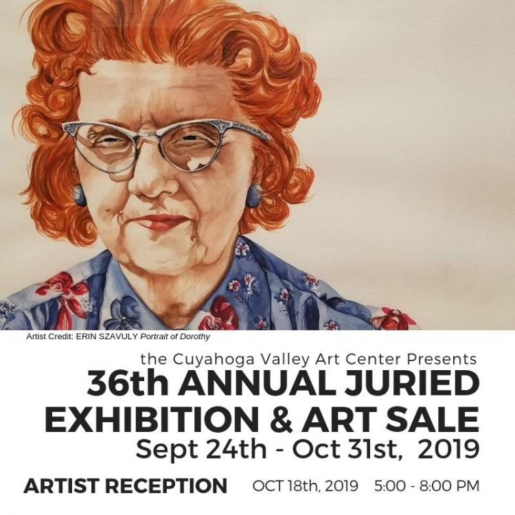 ARTIST RECEPTION 36th Annual Juried Exhibition