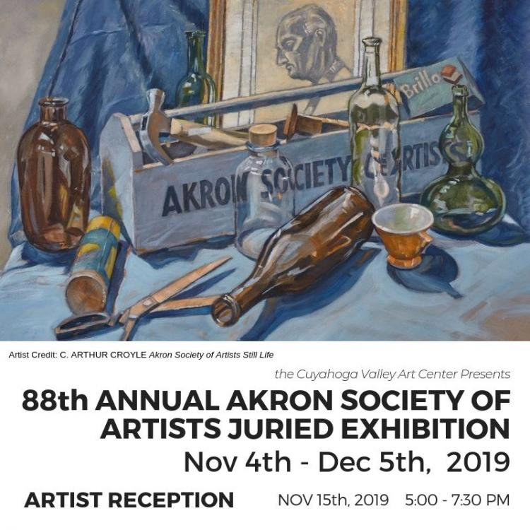88th Annual Akron Society of Artists Juried Exhibition