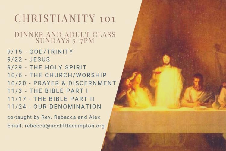 Christianity 101: An Intro to Our Faith for Adults