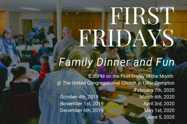 First Fridays - Family Dinner and Fun